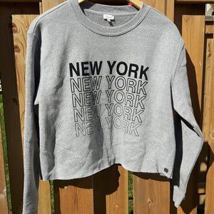 Kismet New York New York Cropped Sweater Large